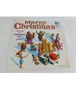 Hanna Barbera Merry Christmas Organ Chimes Record Album - $24.95