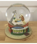 Disney Lady and the Tramp Musical Bella Notte Tony's Restaurant Snow Globe - $34.95
