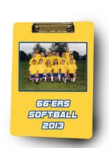 Personalized Custom Softball Coach Dry Erase Clipboard  - $28.95