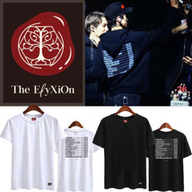 KPOP EXO T-Shirt The EℓyXiOn Tshirt LAY Letter Tee CHANYEOL SEHUN BAEKHYUN - $10.38