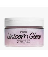 Victoria's Secret PINK Unicorn Glow Shimmer Body Scrub 10 oz Brand New - $15.59