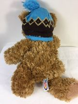 "Mary Meyer Plush St. Jude Oliver Bear 16"" Stuffed Animal in Blue Knit Hat Scarf image 5"