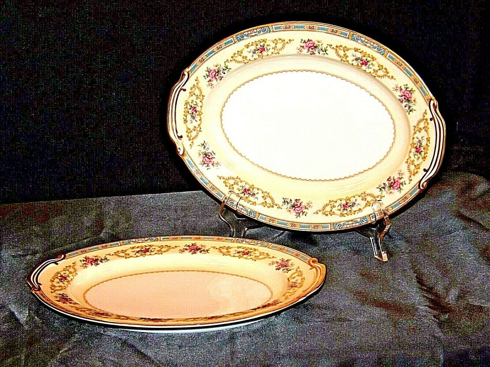 Noritake China Japan (Colby Pattern # 5032) serving platters AA19-1490 Vintage