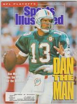 1991 Sports Illustrated Miami Dolphins Dan Marino Super Bowl Redskins No... - $2.50