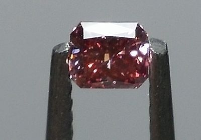 Primary image for Best Quality! 0.16ct Argyle Diamond - Fancy Deep Pink VVS2 GIA Red Tone natural