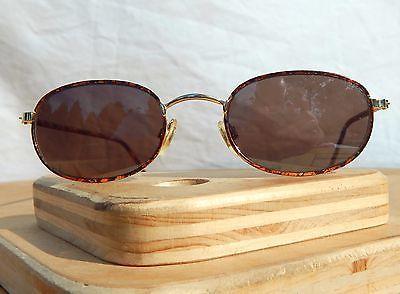 eaed858df6 Vintage Nine West Sunglasses Tortoise Gold Wire Frames 90 s 45 20 150