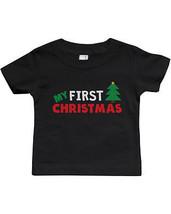 Infant Soft Shirts. Sizes: 6M, 12M, 18M, 24M - My First Christmas - $13.99