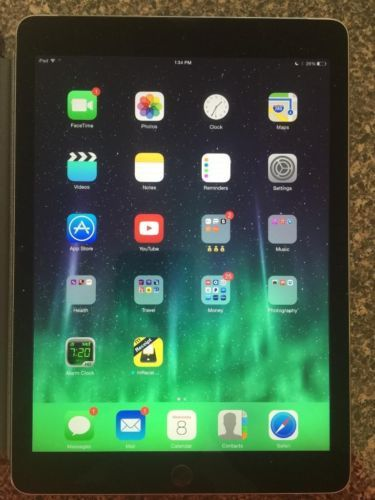 iPad Air 2 16 GB A1567 Space Gray AT&T, T-Mobile, Verizon, Sprint