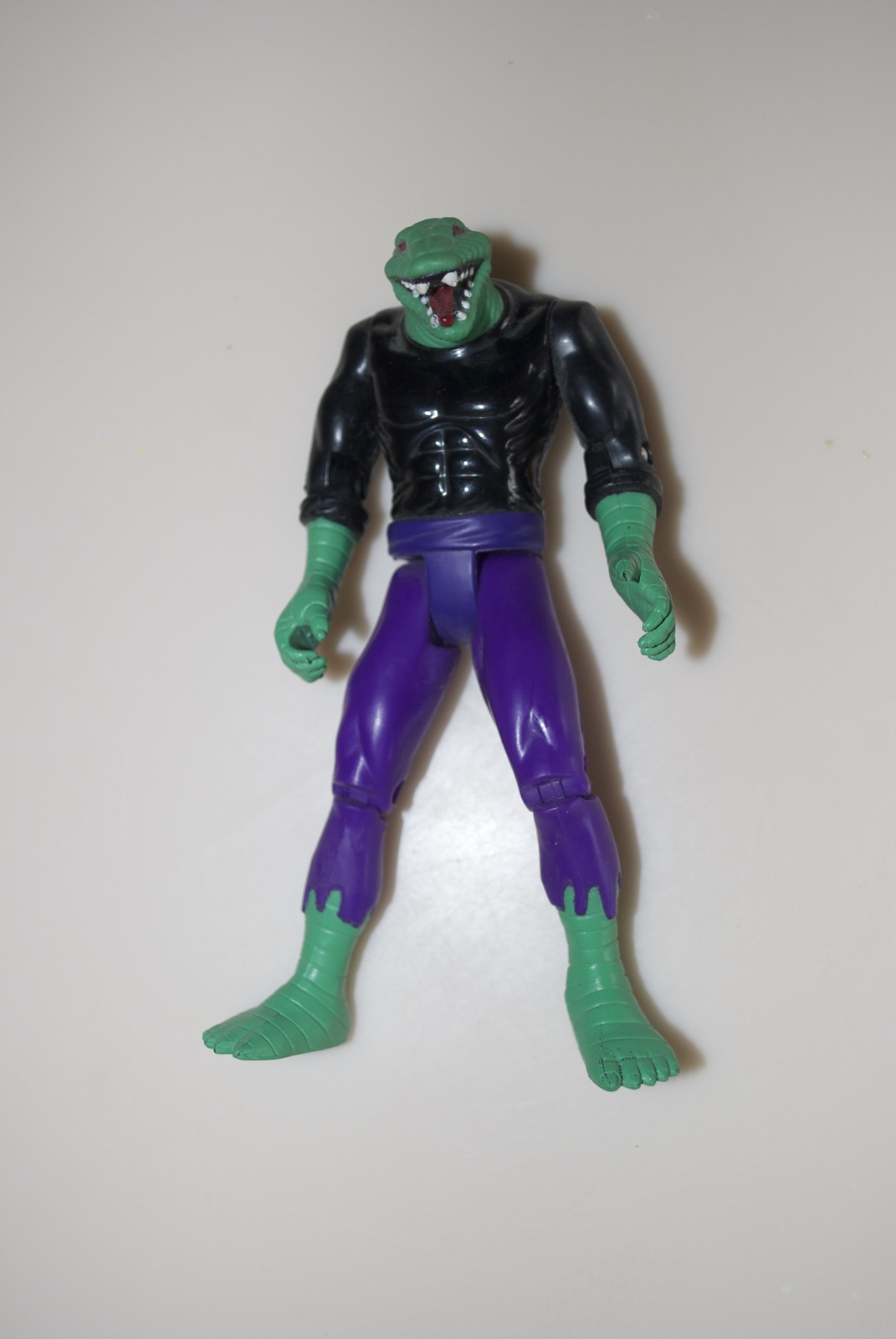 Primary image for Spider-Man Lizard Action Figure 1994 Vintage No Tail or Cloak