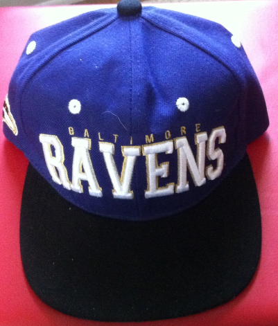 Primary image for Ravens Football Cap New