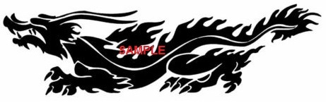 Primary image for ASIAN DRAGON CROSS STITCH CHART