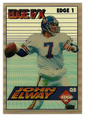Primary image for 1994 COLLECTORS EDGE F/X DENVER BRONCOS JOHN ELWAY