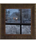 A Warm Heart on a Cold Night By Todd Thunstedt 17.5x17.5 Inspirational R... - $59.00