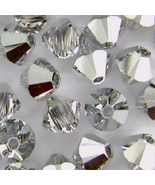 4mm Crystal Argent Light Swarovski Xilion Beads 5328 ( 72 ) CAL silver b... - $6.75