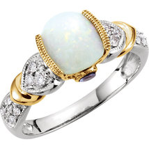 Diamond Opal Vintage Round Antique Square Cushion Princess Halo Engageme... - £605.52 GBP
