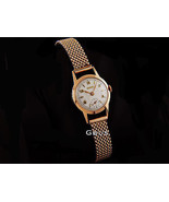 18kt. Rose Gold Exquisite Vintage Mechanical Ladies DOXA Watch VERY RARE... - $850.00