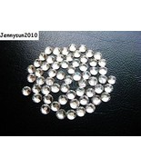 Top Quality Clear Crystal Round Rhinestones Flatback No Hotfix ss3 ~ss40... - $4.79+