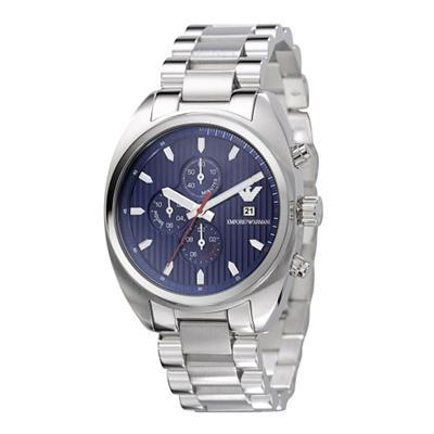 Primary image for EMPORIO ARMANI MEN´S AR5912 CHRONOGRAPH STAINLESS STEEL WATCH