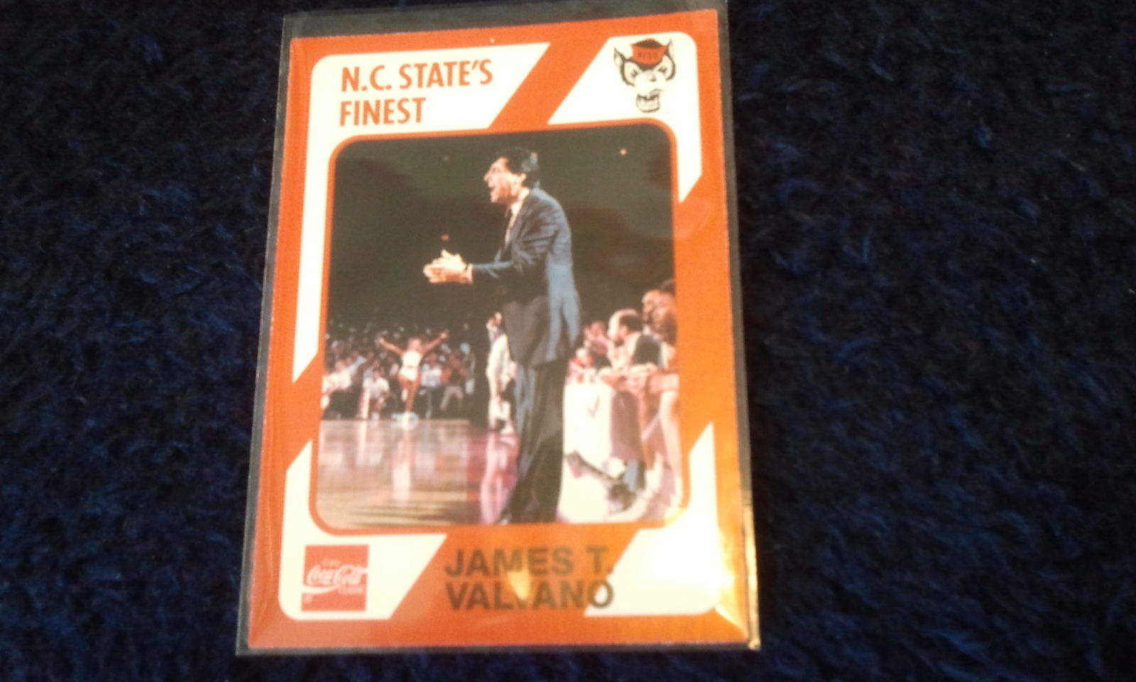 Primary image for 1989 North Carolina State #191 JIM VALVANO -ROOKIE-