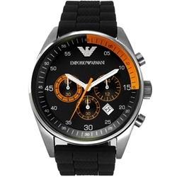Primary image for EMPORIO ARMANI AR5878 MENS CHRONOGRAPH WATCH