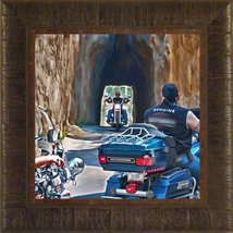 Threading the Needle By Todd Thunstedt 17.5x17.5 Needles Highway Keyston... - $59.00