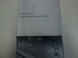 2010 Mercedes SLS AMG E-Class North American Auto Show Press Information CD - $34.61