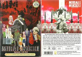 Mirai Nikki The Future Diary DVD Complete 1-26 (ENG)+OVA Anime DVD SHIP FROM USA