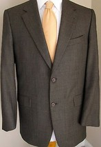 Loro Piana Blazer 40R Daniel Cremieux Brown Sport Jacket Coat Two Button... - $87.43 CAD