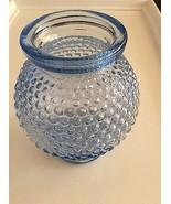 Vintage Blue Hobnail Vase - $19.55