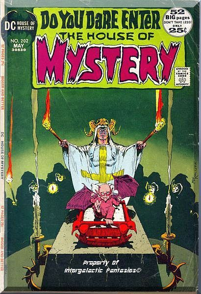 Primary image for The House Of Mystery #202 (1972) *Bronze Age / DC Comics / 52 Big Pages*