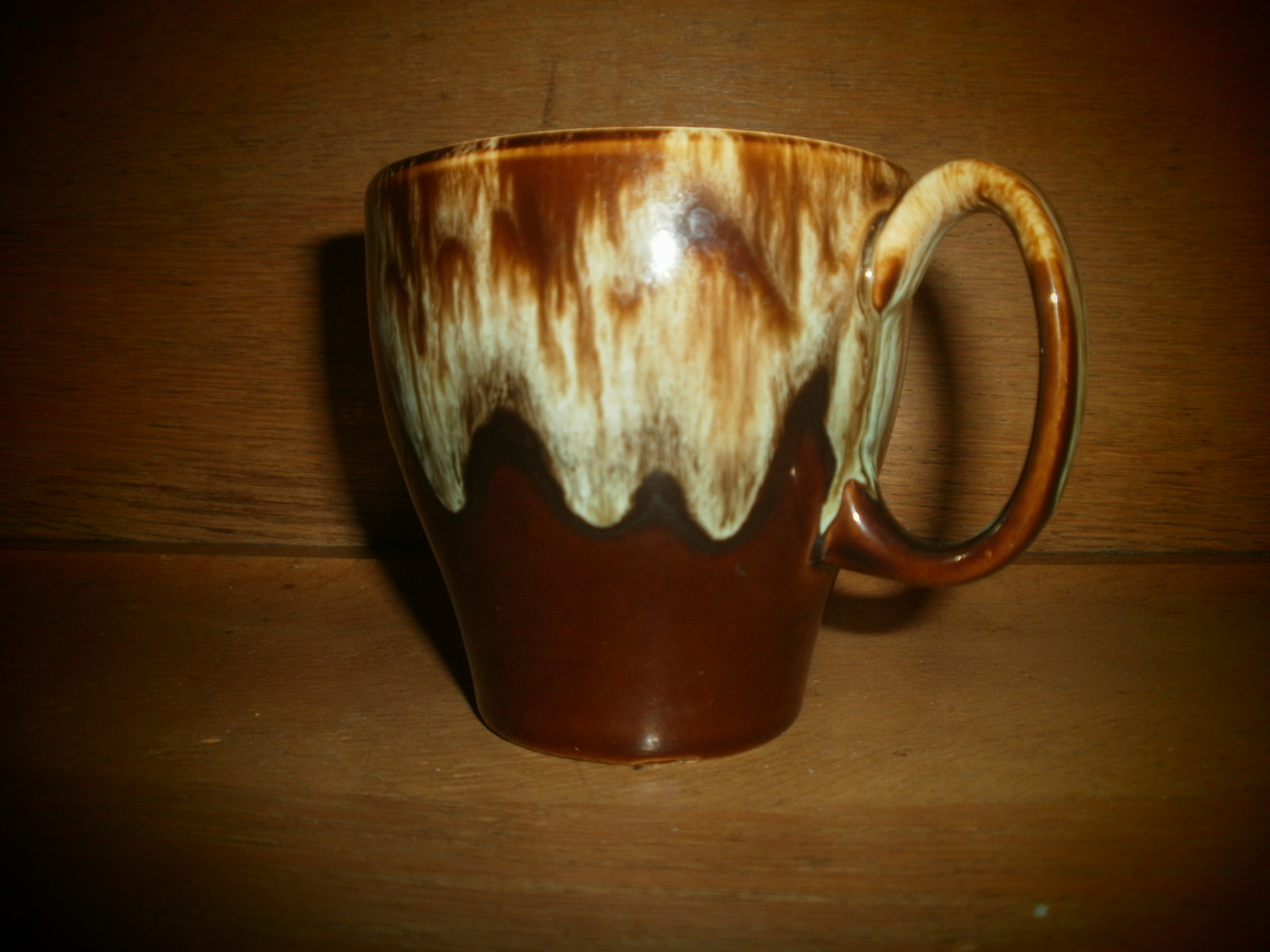 Primary image for Canonsburge    Brown Drip Pottery Coffee Cup