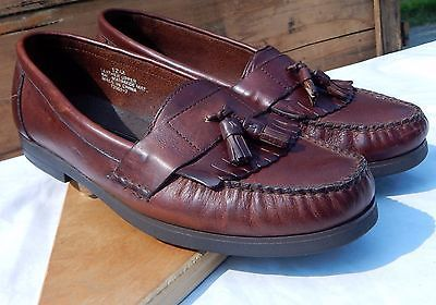 Primary image for Jean Pier Clementi Shoes Men's Tassel Loafers Slip-on Casual Size 12M
