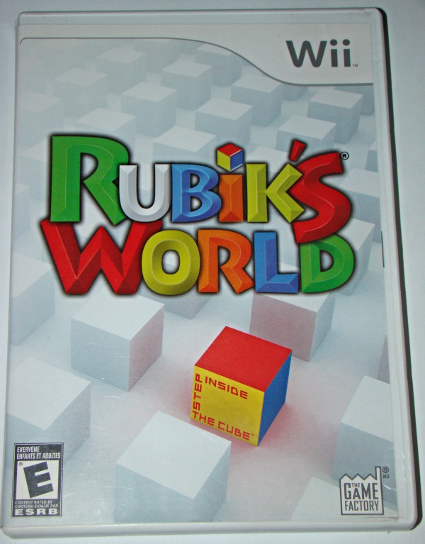 Primary image for Nintendo Wii - Rubik's World - Step Inside the Cube (Complete with Instructions)