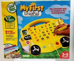 My First Leap Pad Pre-K Ages 3-5 Learning System Includes Leaps Big Day ... - $56.06