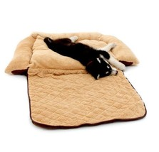 Dog Sofa Bed Pet Couch Cat Mat Puppy Cushion Multi Purpose Pad Big Size Wrap Up
