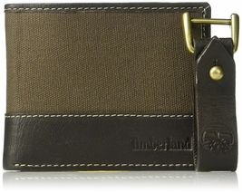 Timberland Men's Leather Credit Card ID Bifold Wallet With Key Fob Gift Box Set image 11