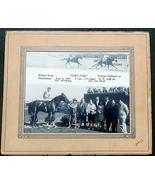 1966 Horse Racing Split Photo Thistledown Pre Race/ Finish Line Flashy F... - $46.65