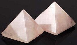 Rose Quartz Pyramid - $21.99
