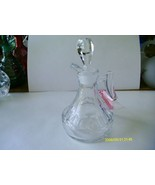 Fostoria Crystal Raleigh Cruet - $19.80