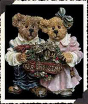 "Boyds Bears ""Grenville & Beatrice""  Bearstone Ornament* #25722-NIB- 1999... - $15.99"