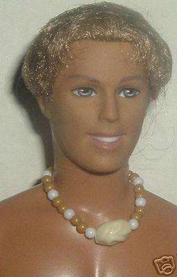Barbie's boyfriend KEN Doll Blonde Rooted hair tan Mattel