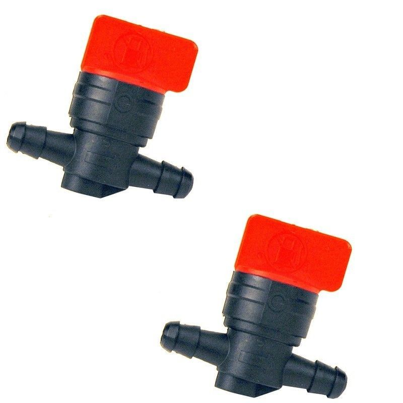 Primary image for TWO INLINE FUEL SHUTOFF VALVES 698183 494768 BRIGGS DEERE AM107340 SNAPPER SCAG