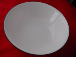 CORELLE BLACK & WHITE 1 QUART SERVING BOWL BRAND NEW FREE USA SHIPPING - $22.76