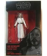 "Star Wars the Black Series Luke Skywalker Jedi Master 3.75"" Hasbro Disney - $4.85"