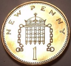 Cameo Proof Great Britain 1984 Penny~Proofs R Best Coins~107K Minted~Fre... - $4.90
