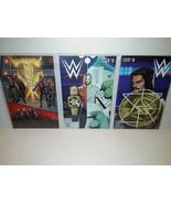 WWE #3 AND #4 + #13 - BOOM COMICS - FREE SHIPPING - $18.70