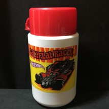 2000 Thermos Lunchbox Style Saltflat Racer Hot Wheels Cup Thermos - $18.69