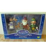 2002 Rudolph Island Of Misfit Toys Santa & Friends Figure Set Elf, Claus... - $149.95