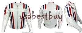 Custom Handmade Men Motorcycle Leather Jacket, Biker Leather Jacket - $149.99