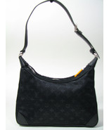 Louis Vuitton Mini Boulogne Monogram Noir Black Jacquard & Leather Small... - $475.29